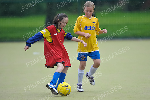 Pupils taking part in a regional School Games Competition.
