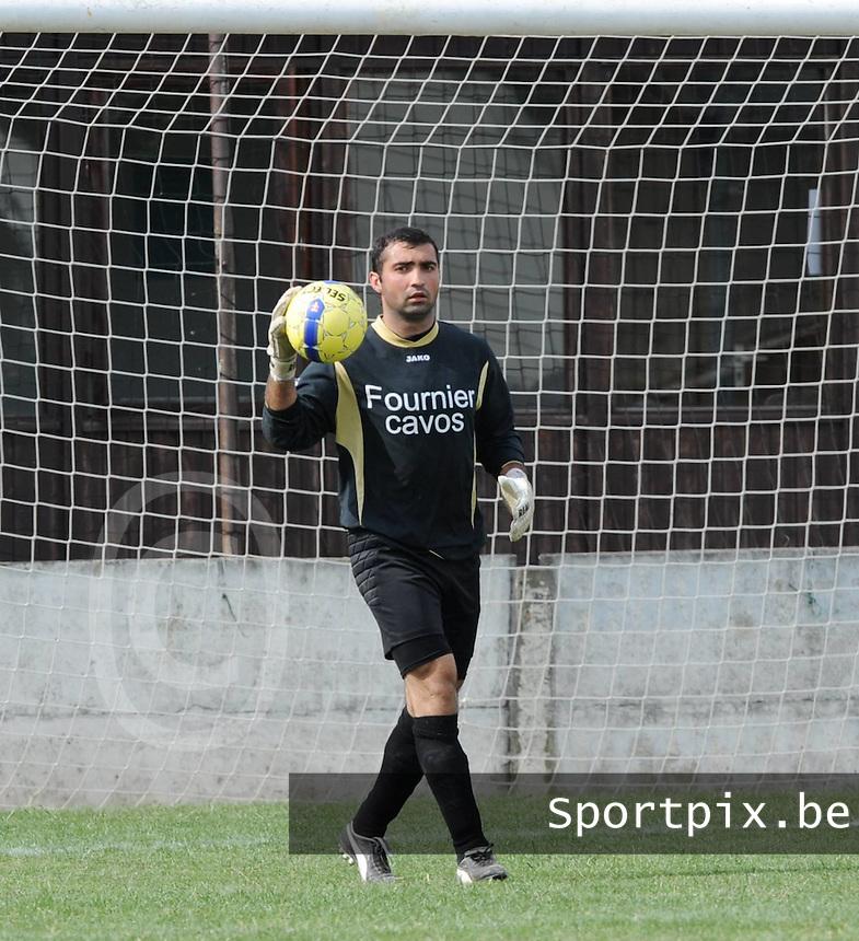 SC Menen : Vahram Gevorgyan.foto VDB / BART VANDENBROUCKE