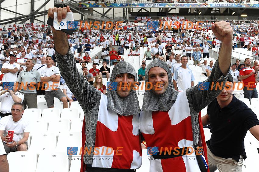 Tifosi Inghilterra England Supporters<br /> Marseille 11-06-2016 Stade Velodrome football Euro2016 England - Russia  / Inghilterra - Russia Group Stage Group B. Foto Massimo Insabato / Insidefoto