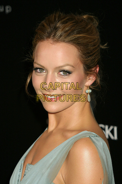 BECKI NEWTON.9th Annual Costume Designers Guild Awards Gala at the Regent Beverly Wilshire Hotel, Beverly Hills, California, USA,17 February 2007..portrait headshot grey pale blue dress.CAP/ADM/BP.©Byron Purvis/AdMedia/Capital Pictures.