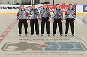 Bonnyville, AB - Dec 13 2018 - Tournament Officials during the 2018 World Junior A Challenge at the R.J. Lalonde Arena in Bonnyville, Alberta, Canada (Photo: Matthew Murnaghan/Hockey Canada)