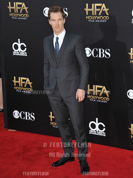 Benedict Cumberbatch at the 2014 Hollywood Film Awards at the Hollywood Palladium.<br /> November 14, 2014  Los Angeles, CA<br /> Picture: Paul Smith / Featureflash