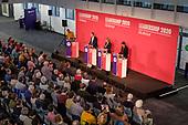 Kier Starmer, Rebecca Long Bailey, Lisa Nandy, Labour Party leadership hustings, Islington, London.