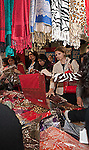 Shopping for scarves at the Eleventh Annual Texas Conference for Women