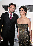 Hugh Jackman and Catherine Zeta Jones at 'A Fine Romance' at Sony Studios, Los Angeles, California..Photo by Nina Prommer/Milestone Photo