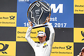 June 17th 2017, Hunaroring, Budapest, Hungary; DTM Motor racing series;  Winner Paul di Resta (GBR, HWA AG, Mercedes-AMG C63 DTM)