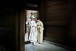Tokyo, October 2011 - The precious bride.