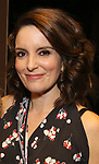 "Tina Fey during the Actors' Equity Opening Night Gypsy Robe Ceremony honoring Brendon Stimson for ""Mean Girls"" at the August Wilson Theatre Theatre on April 8, 2018 in New York City."