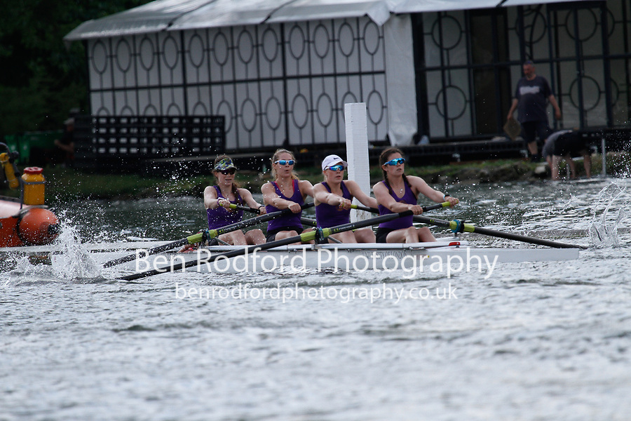 Race: 358 Event: A4+ Final - King's Coll Lon  vs Univ of London <br /> <br /> Henley Women's Regatta 2017<br /> <br /> To purchase this photo, or to see pricing information for Prints and Downloads, click the blue 'Add to Cart' button at the top-right of the page.