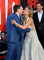 Ed Helms, Annabelle Wallis &amp; Jeff Tomsic at the world premiere for &quot;TAG&quot; at the Regency Village Theatre, Los Angeles, USA 07 June  2018<br /> Picture: Paul Smith/Featureflash/SilverHub 0208 004 5359 sales@silverhubmedia.com