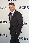 David Boreanaz arrives at the CBS Upfront at The Plaza Hotel in New York City on May 17, 2017.