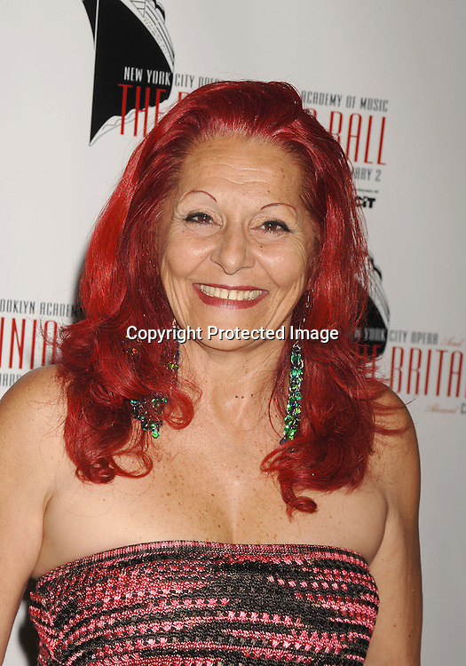 Patricia Field..arriving at The Britannia Ball on board The Queen Mary 2 ..to benefit the New York City Opera and the Brooklyn Academy of Music sponsored by CIT on May 24, 2007 ...RobinPlatzer, Twin Images......212-935-0770
