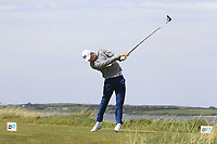 Mark Power (Kilkenny) on the 10th tee during the Flogas Irish Amateur Open Championship 2019 at the Co.Sligo Golf Club, Rosses Point, Sligo, Ireland. 15/05/19<br /> <br /> Picture: Thos Caffrey / Golffile<br /> <br /> All photos usage must carry mandatory copyright credit (© Golffile | Thos Caffrey)