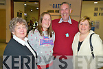 Pictured ahead of the Kerry MS pilgrimage to Lourdes were Nora O'Leary, Ciara Nagle, Tim O'Sullivan and Noreen Nagle, Kilcummin...   Copyright Kerry's Eye 2008