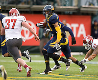 Keenan Allen of California in action during the game against Washington State at AT&T Park in San Francisco, California on November 5th, 2011.  California defeated Washington State, 30-7.