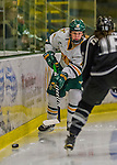 1 February 2015: University of Vermont Catamount Forward Brittany Zuback, a Senior from Thunder Bay, Ontario, in second period action against the visiting Providence College Friars at Gutterson Fieldhouse in Burlington, Vermont. The Lady Cats defeated the Friars 7-3 in Hockey East play. Mandatory Credit: Ed Wolfstein Photo *** RAW (NEF) Image File Available ***