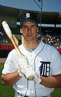 Detroit Tigers Travis Fryman (24) during Spring Training 1993 at Joker Marchant Stadium in Lakeland, Florida.  (MJA/Four Seam Images)