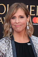 Mel Giedroyc arriving for the Olivier Awards 2018 at the Royal Albert Hall, London, UK. <br /> 08 April  2018<br /> Picture: Steve Vas/Featureflash/SilverHub 0208 004 5359 sales@silverhubmedia.com