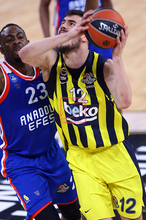Turkish Airlines Euroleague.<br /> Final Four - Vitoria-Gasteiz 2019.<br /> Semifinals.<br /> Fenerbahce Beko Istanbul vs Anadolu Efes Istanbul: 73-92.<br /> James Anderson vs Nikola Kalinic.