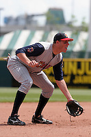 Toledo Mudhens Mike Hessman during an International League game at Dunn Tire Park on June 8, 2006 in Buffalo, New York.  (Mike Janes/Four Seam Images)