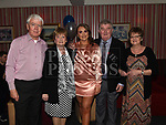 Jade McElroy celebrating her 21st birthday in the Trinity Quarter with grandparents Tony and Angela Gough and Hughie and Bridie McElroy. Photo:Colin Bell/pressphotos.ie