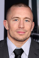 """Georges St. Pierre<br /> at the """"Captain America: The Winter Soldier"""" Los Angeles Premiere, El Capitan, Hollywood, CA 03-13-14<br /> David Edwards/DailyCeleb.com 818-249-4998"""