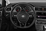Car pictures of steering wheel view of a 2018 Volkswagen Golf Alltrack TSI SEL 4Motion DSG 5 Door Wagon