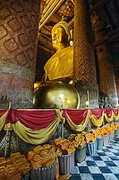 Buddha, Wat Yai Chaya Mongkol or The Great Temple of Auspicious Victory, Ayutthaya, Thailand