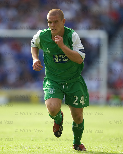 Jay Shields, Hibs.stock season 2004-2005.pic willie vass