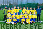 The Castleisland AFC team that played Camp in the U14 Girls Premier league in Castleislands new Astro turf pitch on Saturday