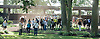 people in the paddock before The Kent Stakes (gr 2) at Delaware Park on 9/7/13