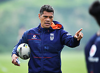 Head coach Stephen Kearney.<br /> Vodafone Warriors training session. NRL Rugby League. Mt Smart Stadium, Auckland, New Zealand. Thursday 8 February 2018 &copy; Copyright Photo: Andrew Cornaga / www.photosport.nz