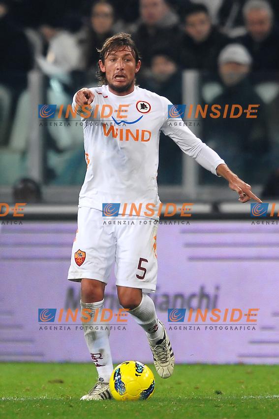 "Gabriel Heinze Roma.Torino 24/01/2012 Stadio ""Juventus Stadium"".Football Calcio 2011/2012 Coppa Italia.Juventus Vs Roma.Foto Insidefoto Andrea Staccioli"