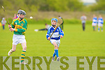 St Brendan's Aidan Healy and Lixnaw's Keith Silles.