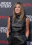 "Jennifer Aniston 057 arrives at the LA Premiere Of Netflix's ""Murder Mystery"" at Regency Village Theatre on June 10, 2019 in Westwood, California"
