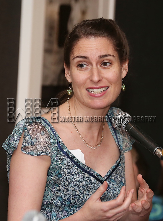 Suzanne Appel attends the Vineyard Theatre's Annual Emerging Artists Luncheon at The National Arts Club on June 6, 2017 in New York City.