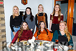 Enjoying the night out in Bella Bia on Thursday night.<br /> Seated l-r, Olivera Ivkovic, Jordan Costello and Judy Walsh.<br /> Back l-r, Emily O'Regan, Maura O'Connor, Susan Conway and Grainne Naughton.
