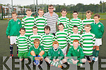 The Killarney Celtic team that are travelling to Staffanstrp, Sweden to play some friendly games next week front row l-r: David Dineen, James Darmody, Shane O'Sullivan. Middle row: Cian O'Leary, Adam Kissane, Niall McGillicuddy, Michael Doyle, Darren Looney, Darragh Lyne. Back row: Jared Barton, Danill Alex, Jordan Lee, Mike Lyne, Gearoid Murphy. Darragh Lawlor, Tommy McGuire and Stephen Corsini..