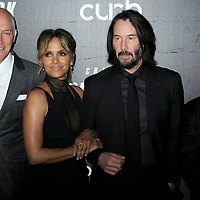 "Halle Berry and Keanu Reeves at the World Premiere of ""John Wick: Chapter 3 Parabellum"", held at One Hanson in Brooklyn, New York, USA, 09 May 2019"