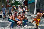Carnaval de rua. Bloco Unidos do Swing, São Paulo. 2018. © Juca Martins.