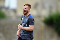 Rory Jennings of Bath Rugby looks on. Bath Rugby pre-season S&C session on June 22, 2017 at Farleigh House in Bath, England. Photo by: Patrick Khachfe / Onside Images