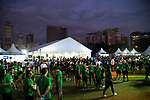 Runners compete at the Bloomberg Square Mile Relay race at Parque do Povo on 23 August 2018 in São Paulo, Brazil. Photo by Leonardo Benassatto / Power Sport Images