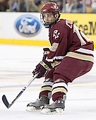 Chris Collins - The Boston College Eagles defeated the University of Maine Black Bears 4-1 in the Hockey East Semi-Final at the TD Banknorth Garden on Friday, March 17, 2006.
