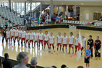 World Floorball Championships 2017 Qualification for Asia Oceania Region - Japan v Thailand at ASB Sports Centre , Wellington, New Zealand on Saturday 4 February 2017.<br /> Photo by Masanori Udagawa<br /> www.photowellington.photoshelter.com.