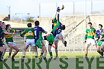 Seamus Scanlon Kerry v Conor Talty Limerick Institute Technology in the Quarter Final of the McGrath Cup at Austin Stack Park, Tralee on Sunday 16th January.