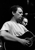 Bob Walsh<br /> le 31 aout 1986, a L'Air du temps<br /> , rue Saint-Paul dans le Vieux-Montreal.<br /> <br /> PHOTO :   Agence Quebec Presse