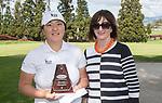 Womens Open winner,  Darae Chung. Jennian Homes Charles Tour, Carrus Open, Tauranga Golf Club, Tauranga, New Zealand, Thursday 10 October 2019. Photo John Borren/www.bwmedia.co.nz