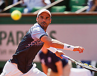 France, Paris , May 24, 2015, Tennis, Roland Garros, Alejandro Falla (COL)<br /> Photo: Tennisimages/Henk Koster