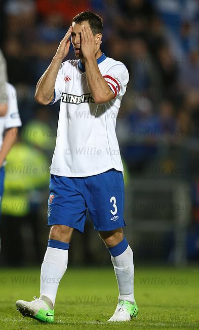 Carlos Bocanegra tries to regain his focus