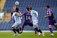 Blackburn Rovers' Danny Graham battles with Stoke City's Danny Batth<br /> <br /> Photographer Alex Dodd/CameraSport<br /> <br /> The EFL Sky Bet Championship - Blackburn Rovers v Stoke City - Saturday 6th April 2019 - Ewood Park - Blackburn<br /> <br /> World Copyright © 2019 CameraSport. All rights reserved. 43 Linden Ave. Countesthorpe. Leicester. England. LE8 5PG - Tel: +44 (0) 116 277 4147 - admin@camerasport.com - www.camerasport.com